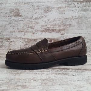 🔵Rockport Comfort Leather Penny Loafer